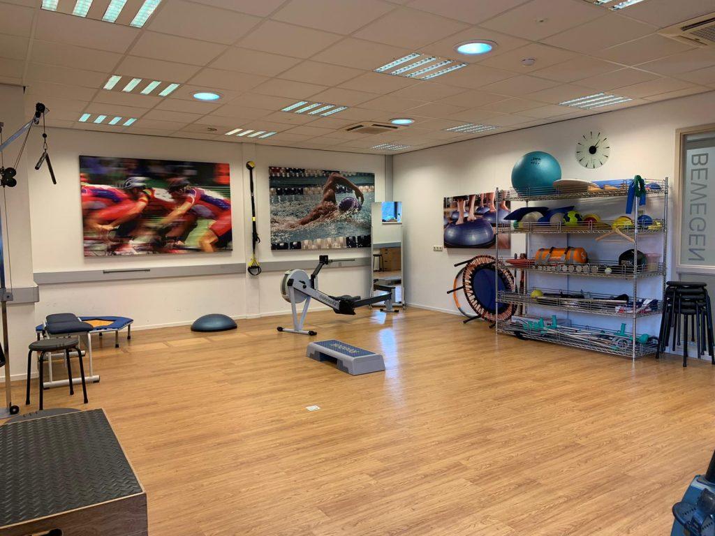 Oefenzaal fysiotherapie manueel therapie busser Tsjoonk Velp