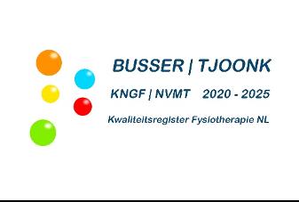 Busser Tjoonk fysio- en manuele therapie KNGF NVMT kwaliteitsregister